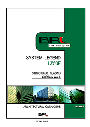 LEGEND 13-50F STRUCTURAL CURTAIN WALL SYSTEM